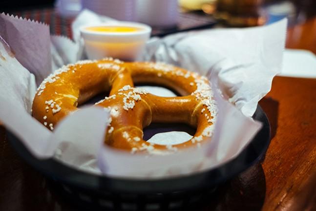 Cap: A soft pretzel - CP PHOTO: JARED MURPHY