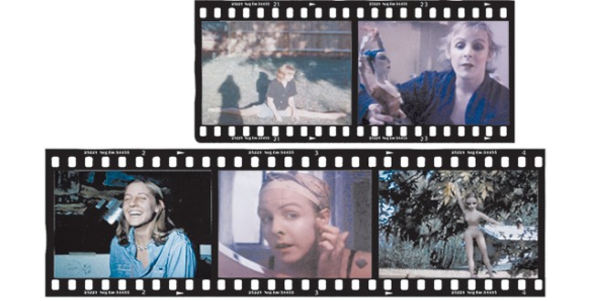 Greer Lankton in home movies from the 1970s. - THE MATTRESS FACTORY