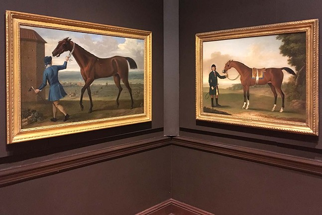 A Sporting Vision at the Frick Art Museum - CP PHOTO: AMANDA WALTZ