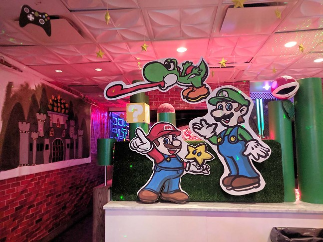 Inside Level Up in Downtown Pittsburgh - CP PHOTO: MAGGIE WEAVER