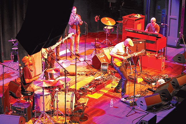 Glenn Strother Project performs at the Roxian Theatre. - CP PHOTO: JARED WICKERHAM