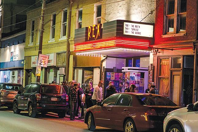 Rex Theater - CP PHOTO: DAVID HEATH