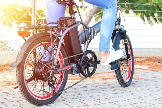 Example of an electric-assist bike