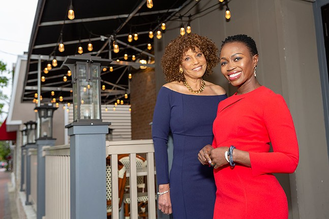 Cornbread co-founders Adenah Bayoh and Zadie B. Smith - PHOTO: CORNBREAD