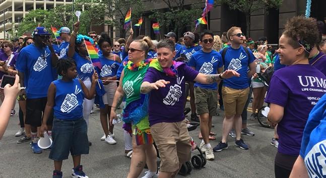 Revelers at 2019 Pittsburgh Pride - CP PHOTO: AMANDA WALTZ