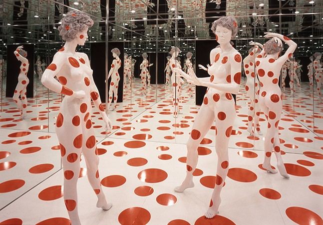 "Yayoi Kusama's ""Repetitive Vision,"" part of the Mattress Factory's permanent collection - PHOTOS: MATTRESS FACTORY"
