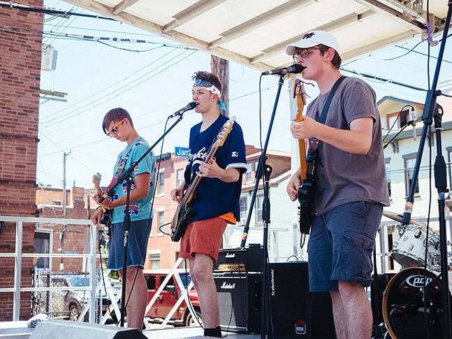 Over 350 bands played on over 35 stages throughout the weekend. - CP PHOTO: JARED MURPHY