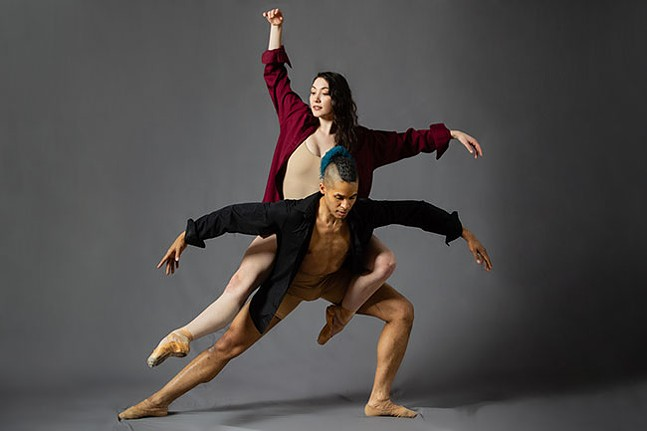Dancers and choreographers Madeline Kendall and Alan Obuzor - MARK SIMPSON PHOTOGRAPHY