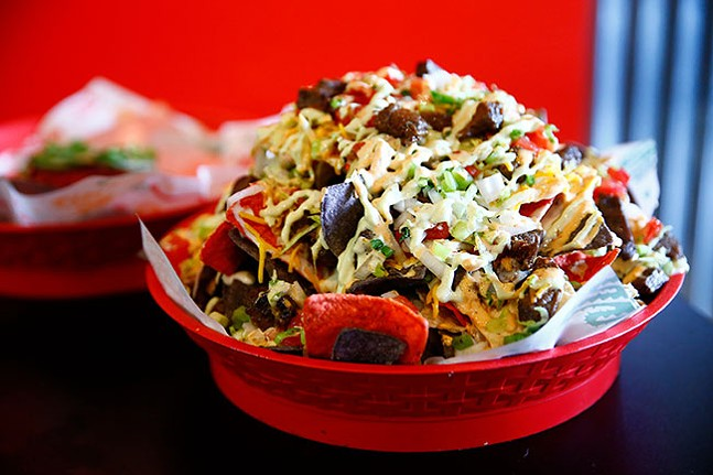 Loaded nachos - CP PHOTO: JARED WICKERHAM