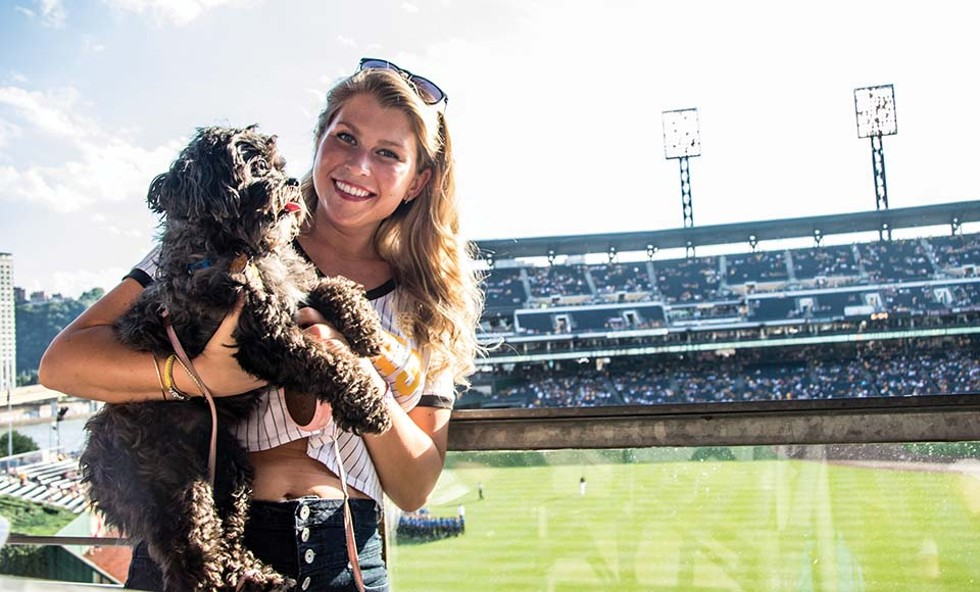 Pup Night at PNC Park - CP PHOTO: LUKE THOR TRAVIS