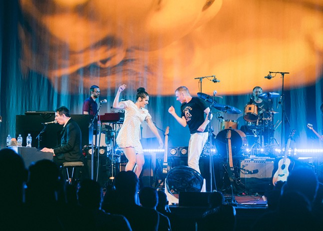 Belle and Sebastian at Carnegie Music Hall in Oakland Thu., July 18 - CP PHOTO: ERIN ALLPORT