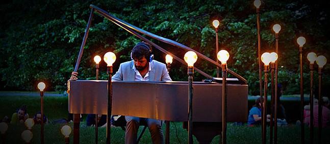 Murray Hidary playing paino - PHOTO: JODY CHRISTOPHERSON