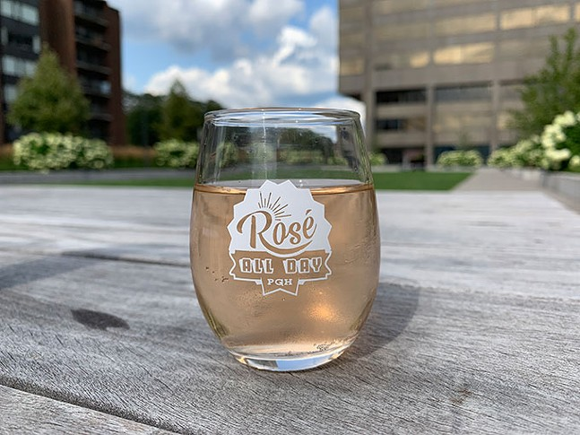 PHOTO: ROSÉ ALL DAY PGH