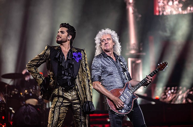 The Rhapsody Tour at PPG Paints Arena on Wed., July 31 - CP PHOTO: MIKE PAPARIELLA
