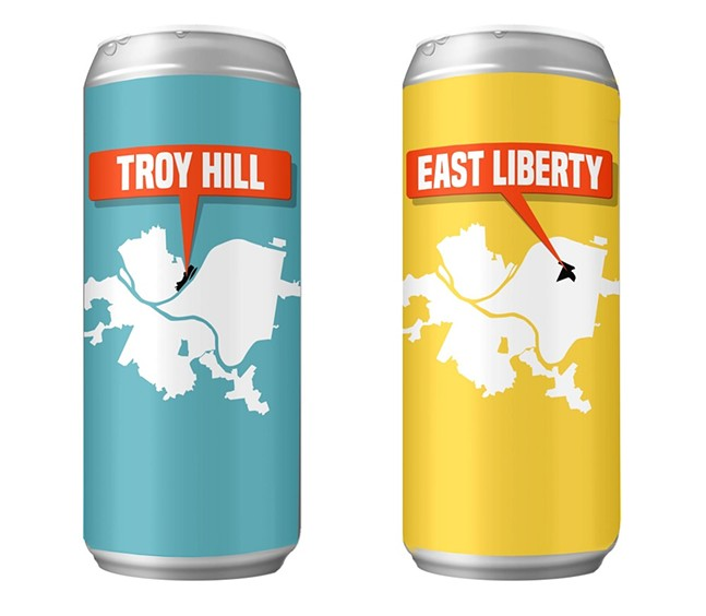 YOU ARE HERE series: Troy Hill and East Liberty - PHOTO: END END BREWING COMPANY