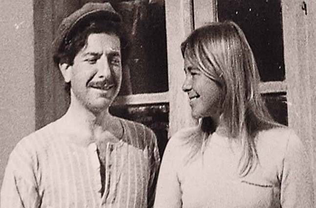 Marianne Ihlen and Leonard Cohen - ROADSIDE ATTRACTIONS