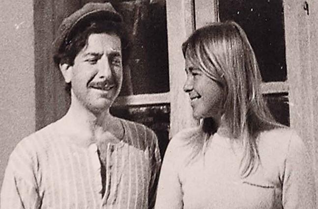 Marianne Ihlen and Leonard Cohen - ROADSIDE ATTRACTIONS