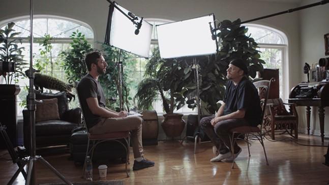 Director Ben Berman and The Amazing Johnathan - PHOTO: HULU