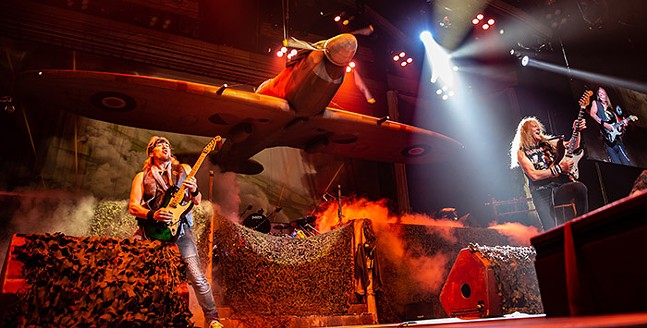 Iron Maiden at PPG Paints Arena - CP PHOTO: MIKE PAPARIELLA