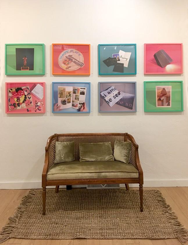 An exhibit of current an previous year's CSA pieces runs at CDCP - PHOTO: CSA PGH