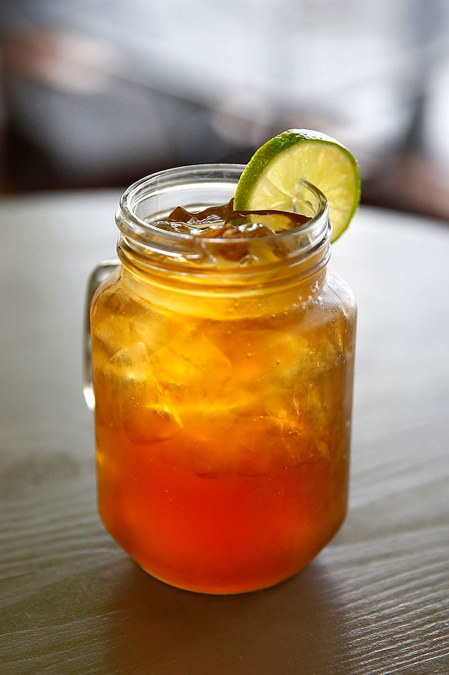 A 'Papelon' drink, made with lemonade and brown sugar - CP PHOTO: JARED WICKERHAM