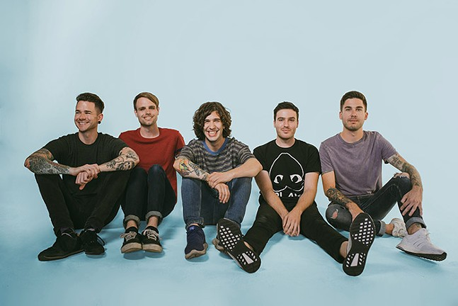 Real Friends at Four Chord Music Festival - FEARLESS RECORDS