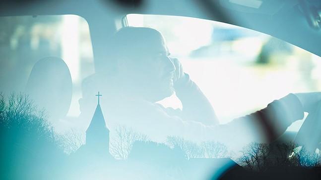 Strange Negotiations follows David Bazan's life after his loss of faith. - ASPIRATION ENTERTAINMENT