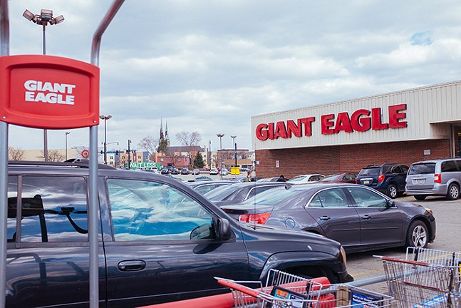 The Shakespeare Street Giant Eagle - CP PHOTO: JARED MURPHY