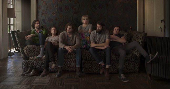Josiah Johnson (second from the left) with The Head and the Heart - PHOTO: CURTIS WAYNE MILLARD