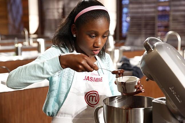 Jasmine Stewart at work in the kitchen - PHOTO COURTESY OF FOX