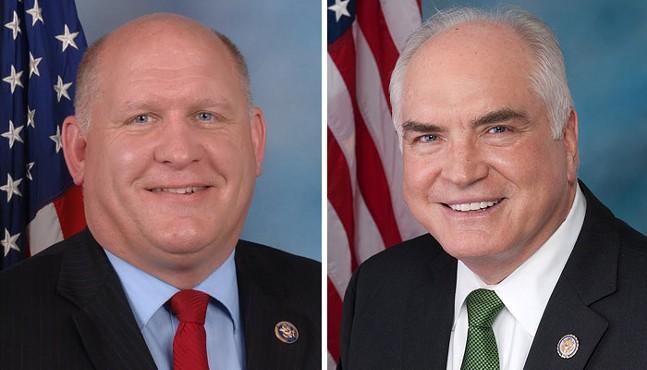 Pa. congressmen Glenn Thompson and Mike Kelly