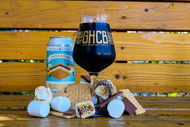 From Grist House and Turner Diary Farm, a s'mores-inspired dessert beer