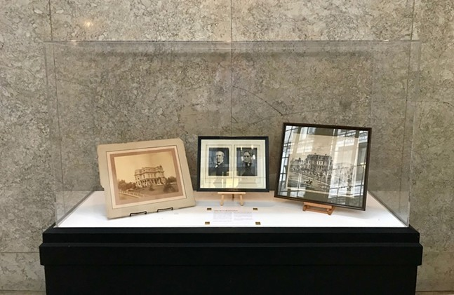 Adam Mercer Brown Collection currently on display in the City-County Building lobby - PHOTO: CITY OF PITTSBURGH OFFICE OF THE CITY CLERK