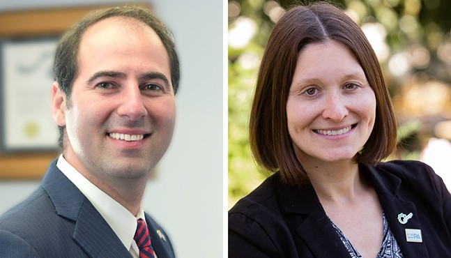 Marco Attisano (left) and Lissa Shulman (right) - PHOTOS COURTESY OF CAMPAIGNS