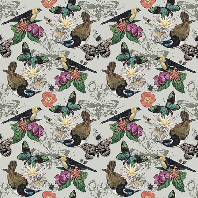 Museum Flora and Fauna wallpaper by Ashley Cecil