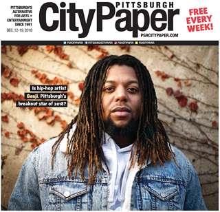 Benji.'s 2018 Pittsburgh City Paper cover