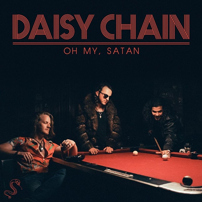Oh My, Satan album cover - PHOTO: NATALIE THOMPSON