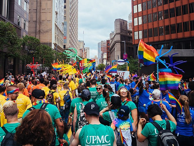 The Pittsburgh Pride Equality March on Sun., June 9, 2019 - CP PHOTO: JARED MURPHY