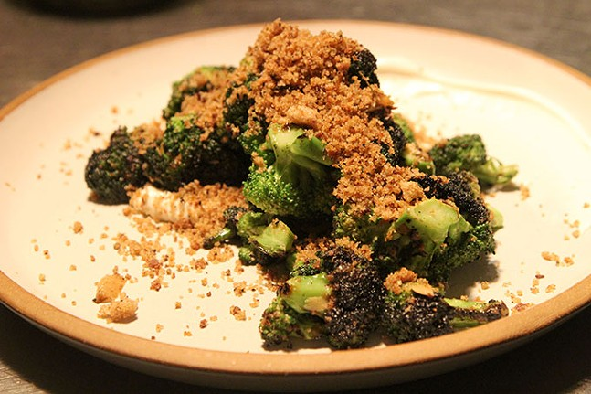 Charred broccoli - CP PHOTO: JOIE KNOUSE