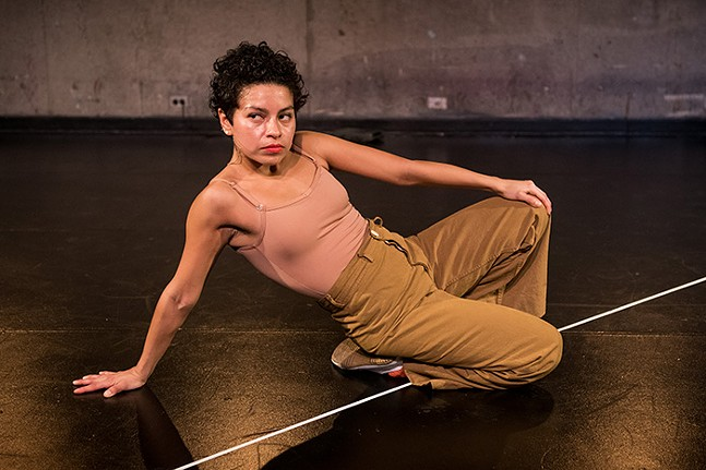 Mariana Valencia - PHOTO: KELLY STRAYHORN THEATER
