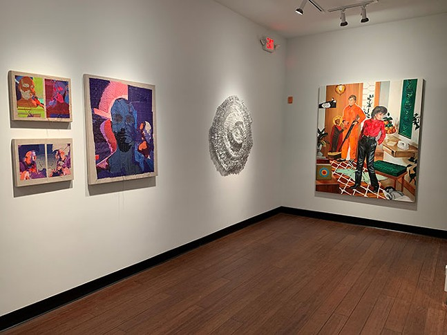 Works of Terry Boyd, Atticus Adams, and Scott Hunter - ZYNKA GALLERY