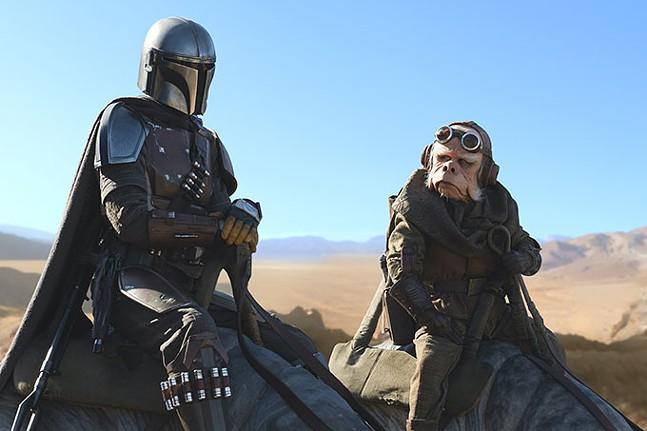 The Mandalorian, a Star Wars show on Disney Plus - LUCASFILM LTD.