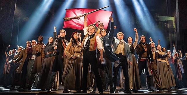 The cast of Les Misérables - PHOTO: MATTHEW MURPHY