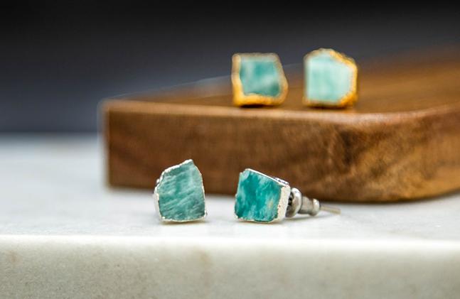 Stud earrings from Maverick Objects. - MAVERICK OBJECTS
