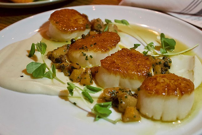 Dayboat scallops - CP PHOTO: JOIE KNOUSE
