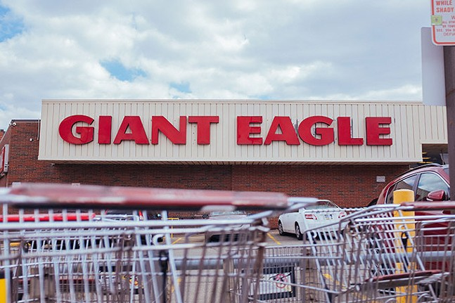 Shakespeare Giant Eagle shopping center at Penn and Shady - CP PHOTO: JARED WICKERHAM