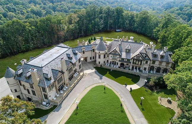 The Manor House and Castle in Gibsonia, Pa. - SCREENSHOT FROM BERKSHIRE HATHAWAY LISTING