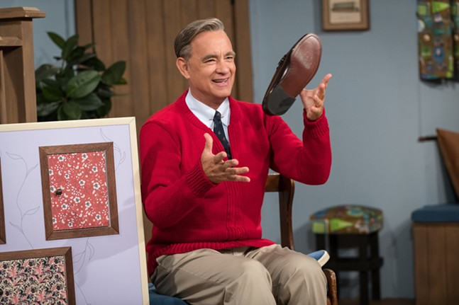 Tom Hanks as Fred Rogers in A Beautiful Day in the Neighborhood - PHOTO: SONY PICTURES
