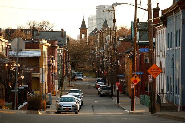 Pittsburgh's Lawrenceville neighborhood has seen its home prices drastically increase in recent years. - CP PHOTO: JARED WICKERHAM