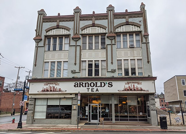 Arnold's Tea on East Ohio Street on Pittsburgh's North Side - CP PHOTO: LISA CUNNINGHAM